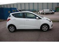 2014 64 HYUNDAI I10 5dr Hat 1.0 66ps SE in Polar White