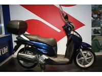 2007 57 HONDA SH 300 BLUE, SCREEN AND TOP BOX