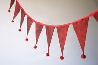 Quality fabric buntings - different styles