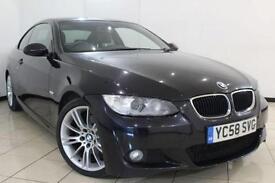 2009 58 BMW 3 SERIES 2.0 320D M SPORT 2DR AUTOMATIC 175 BHP DIESEL