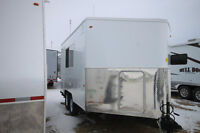COMPACT & AFFORDABLE OFFICE TRAILER
