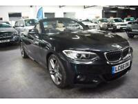2016 BMW 2 Series 2.0 220D M SPORT 2d 188 BHP AUTOMATIC CONVERTIBLE Convertible