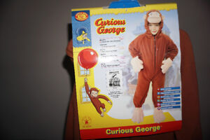 costume de singe curious george, moule gateau, decorations,livre