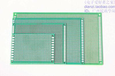 Double Side Prototyping Pcb Circuit Prototype Hole Board Breadboard Stripboards