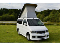 FRESH IMPORT 2002 NEW SHAPE MAZDA BONGO 2.0 PETROL AUTO CAMPER ELEVATING ROOF