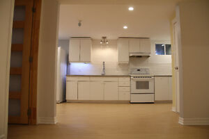 Beautifully renovated condo style living basement in Vaudreuil