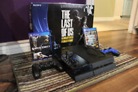 PS4, Hardly used. 2 games GTA V, MKX. 2 Controllers