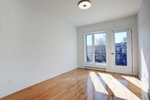 New 3 1/2 condo semi-furnished - Plateau Mont Royal