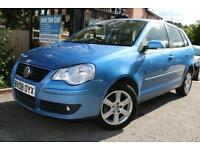 2008 Volkswagen Polo 1.4 MATCH Super Low Mileage Automatic Finance Available