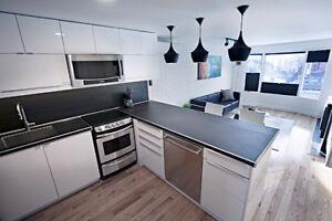 Luxury - DUNDAS SQUARE - hybrid office - gas fireplace