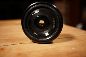 Sony 20mm f/2.8 pancake
