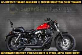 2013 13 HARLEY-DAVIDSON SPORTSTER FORTY EIGHT XL1200 1200CC 0% DEPOSIT FINANCE