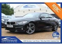2016 66 BMW 4 SERIES 2.0 430I M SPORT 2D AUTO 248 BHP