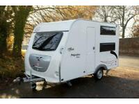 Freecross Premium 330DL 4 Berth Lightweight Family Caravan - Only 900Kgs!