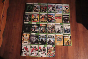 Various Xbox 360 Games (28 for $100)
