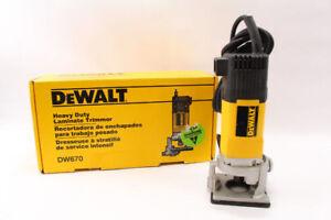 Trimmer Dewalt comme NEUF modèle DW670 Seulement 79.95$!