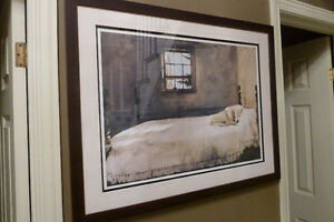 Professionally Framed Print – 'Master Bedroom' by Andrew Wyeth Kitchener / Waterloo Kitchener Area image 2