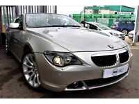 2006 06 BMW 6 SERIES 3.0 630I SPORT 2D 255 BHP