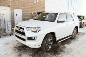 2016 Toyota 4Runner Limited, 7 seat Black leather, Warranty inc