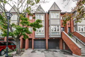 Rent 2-storey finished basement townhome in central Burlington