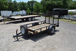 BigTex 5x8 steel trailer!
