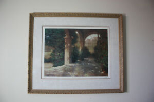 "Limited Edition Print ""Palladian Sunroom"""