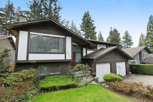 Open House! House in North Vancouver 4 beds, 3 baths + in-law