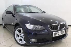 2007 07 BMW 3 SERIES 3.0 325D SE 2DR 195 BHP DIESEL