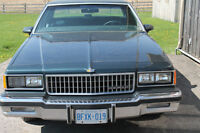 1986 Chevrolet Caprice Classic Brougham - 4 Door Sudan