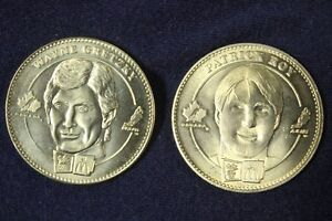 """1998 OLYMPIC WINTER GAMES """"HOCKEY COINS"""" by MC DONALD'S"""