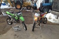 2 bikes to choose from