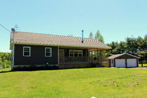 Walkout Bungalow on 2.3 Acres! Not far from Moncton