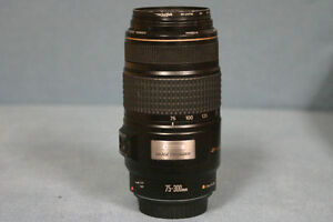 Canon75-300mm Image stabilizer telephoto lens