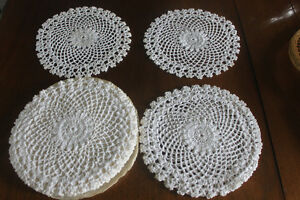 12 New Doilies..... great for decor, protect tables or gifts