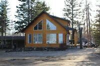 Beautifully Done Log Sided Cabin at Southbay Turtle Lake