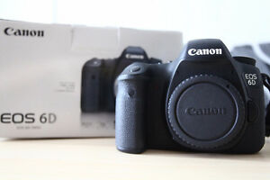 CANON 6D Body Excellent Condition