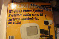 SYLVANIA WIRELESS VIDEO SYSTEM WITH RECORDING CAMERA NEW IN BOX