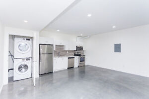 New One Bedroom Basement Suite
