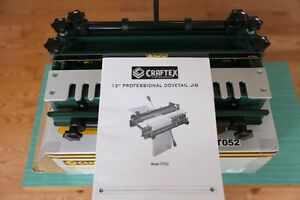 Craftex Dovetail Jig CT052 - new condition Oakville / Halton Region Toronto (GTA) image 4