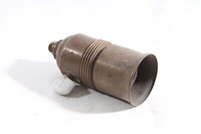 Old Brass Lamp Socket E27 Socket with Rotary Switch Lamp Lamp Lamp