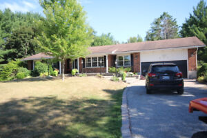 Fantastic partiality furnished 2 bedroom basement apartment!