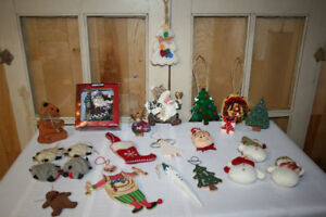 Christmas Ornaments- 23 pieces