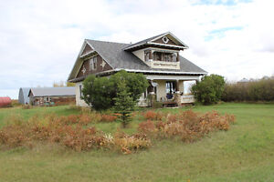 Claresholm 1 hour south Calgary- Acreage Everything included