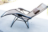 A Set of 4 Zero-Gravity Lawn Chairs in Like New Condition