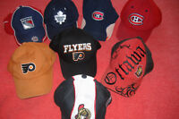 NEW!!! N.H.L.-- C.C.M HOCKEY TEAM HATS.