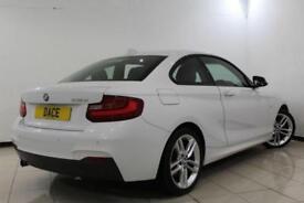 2014 14 BMW 2 SERIES 2.0 218D M SPORT 2DR 141 BHP DIESEL
