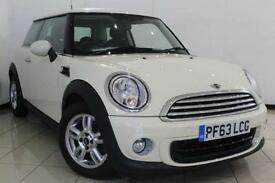2013 63 MINI HATCH ONE 1.6 ONE 3DR 98 BHP