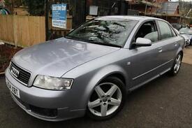 Audi A4 1.9 TDI Sport Silver 4 Door Automatic FSH Cambelt Changed Long MOT Finan