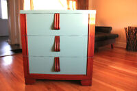 Funky Wood Dresser - Perfect for STUDENTS