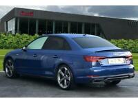 2019 Audi A4 Black Edition 40 TDI quattro 190 PS S tronic Auto Saloon Diesel Aut